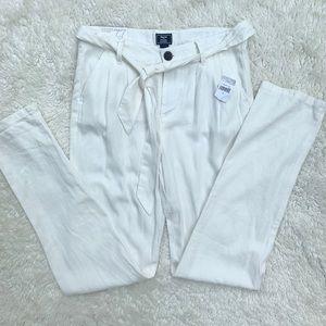 NWT Gap Kids Slim Khaki Linen Pants